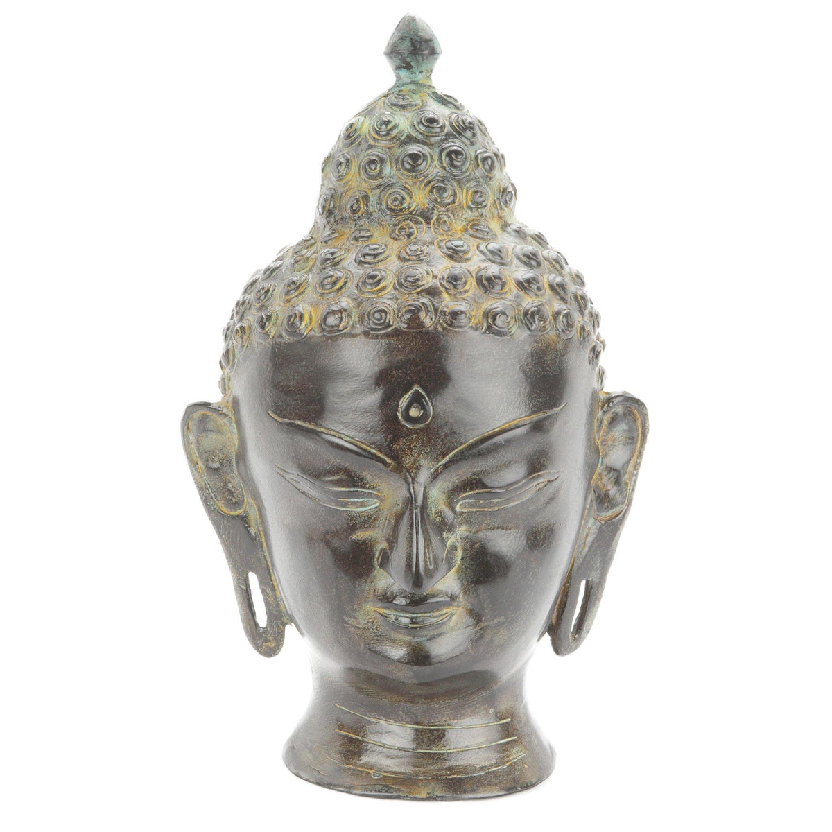 Buddha Head Cremation Ashes Urn - Urns UK