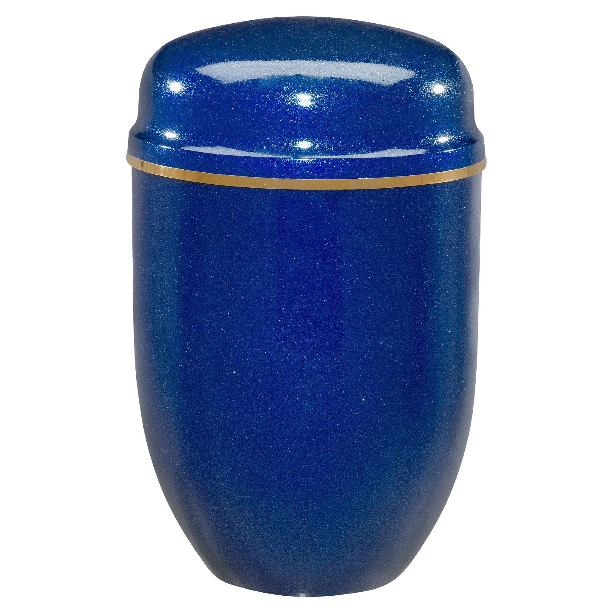 Poole Midnight Blue Cremation Ashes Urn - Urns UK
