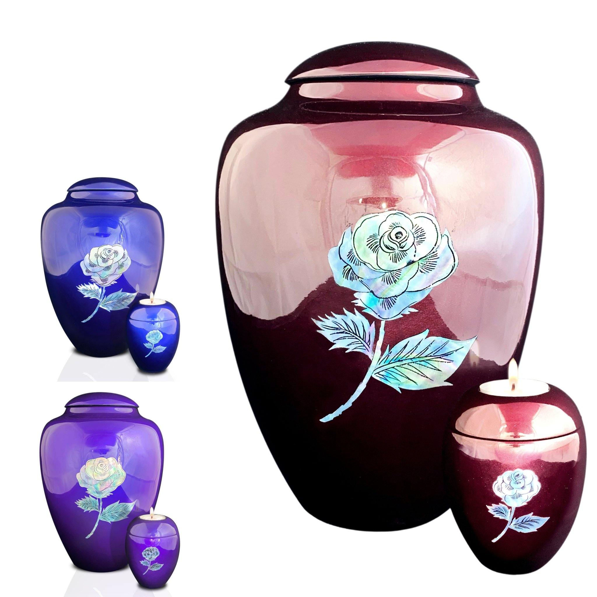 Eskdale  Rose Cremation Ashes Urn Range - Urns UK