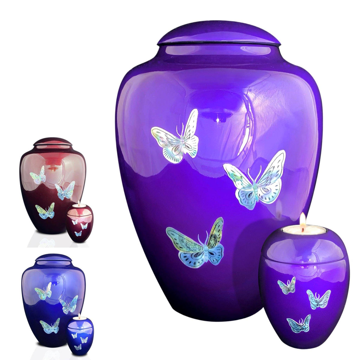 Eskdale  Butterflies Cremation Ashes Urn Range - Urns UK
