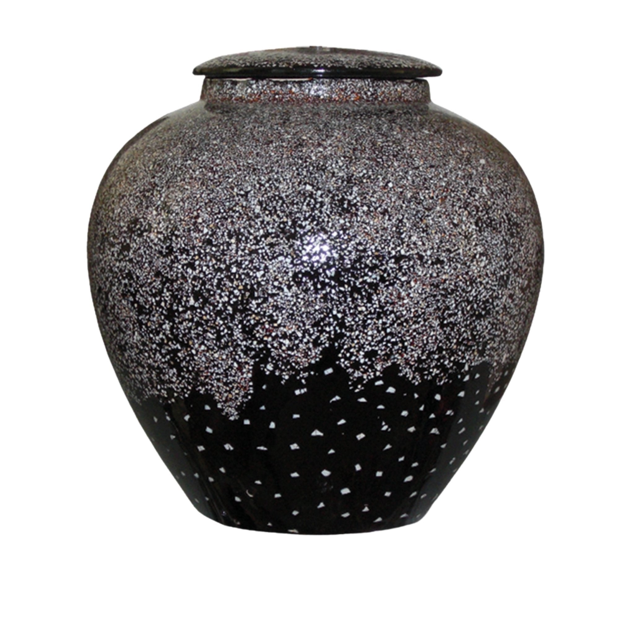 Allerton Adult Cremation Ashes Urn Snow