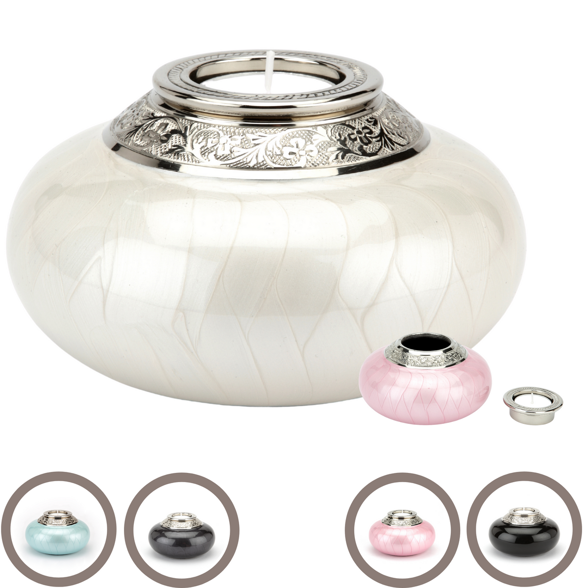 Charlwood Candle Keepsake Cremation Ashes Urn - Urns UK