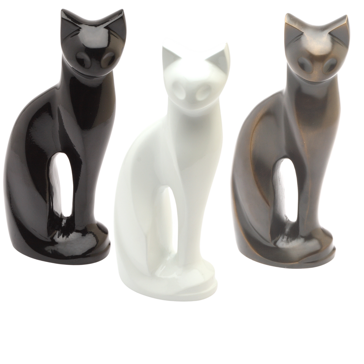 Figurine Cremation Ashes Cat Urn - Urns UK