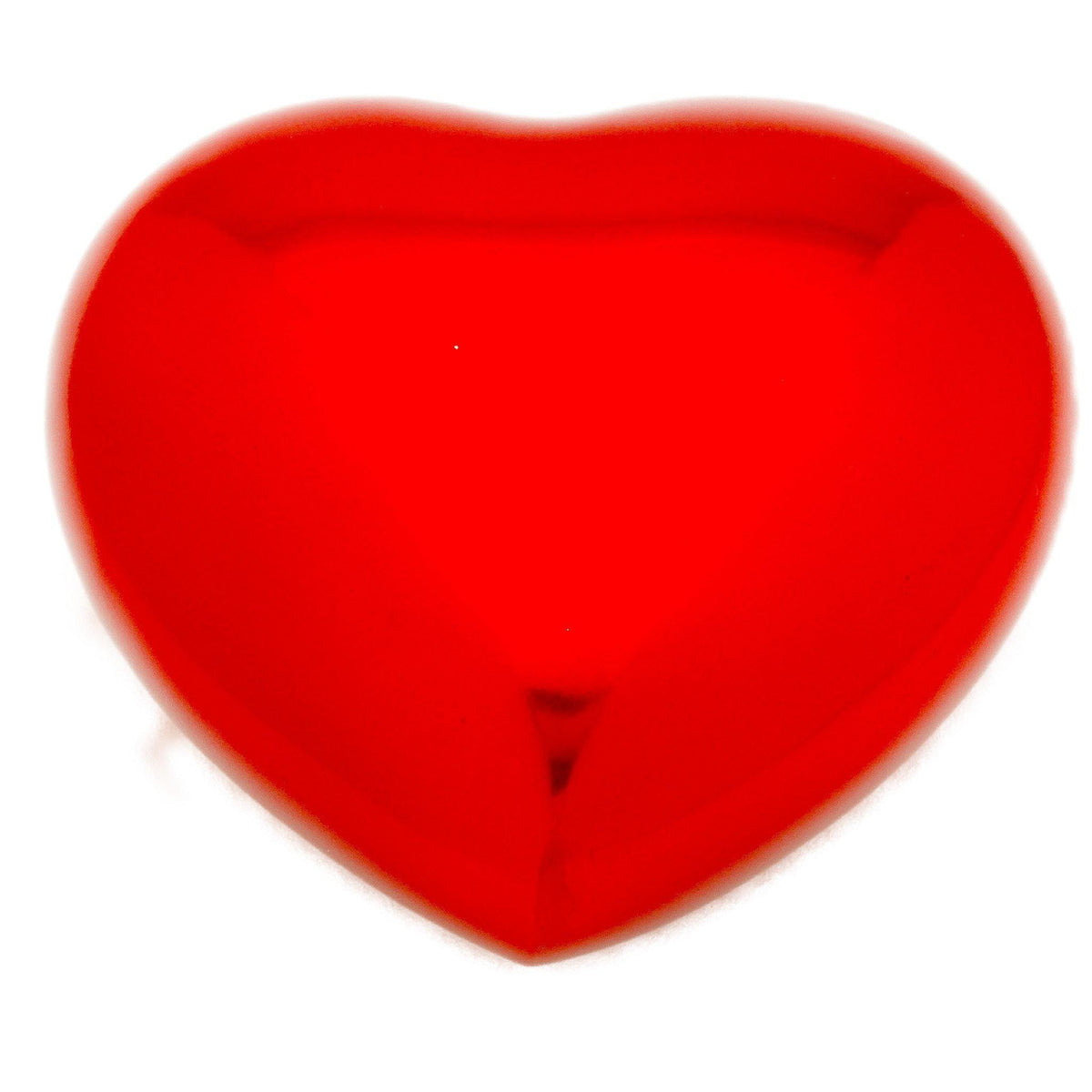 Classic Red Heart Cremation Ashes Keepsake Urn - Urns UK