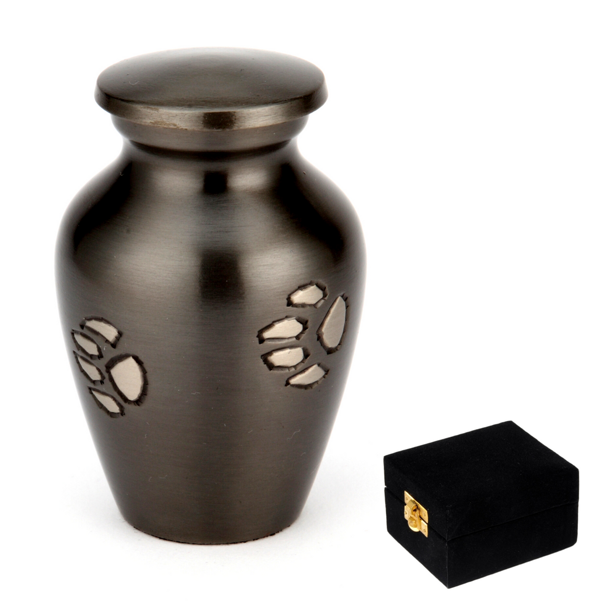 Jarrow Black Cremation Ashes 3 - Urns UK