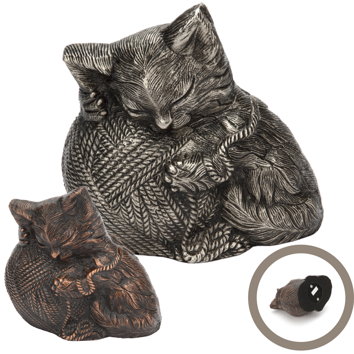 Kitty Ball Pet Cremation Ashes Urn Range - Urns UK