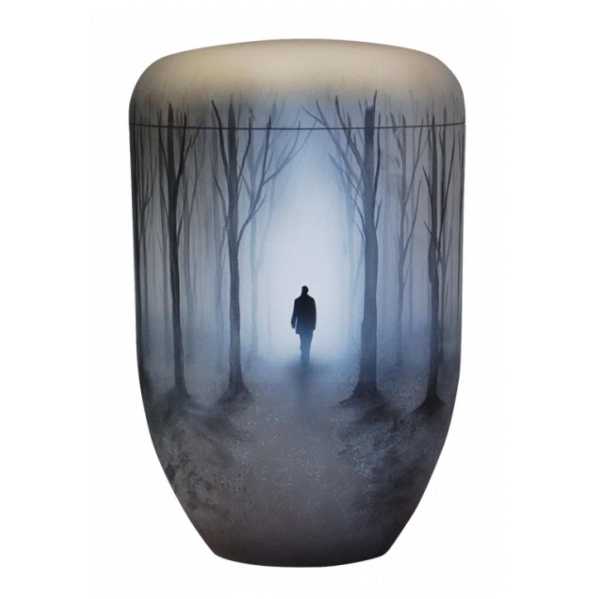 Polperro Man in the Mist Bio Cremation Ashes Urn - Urns UK
