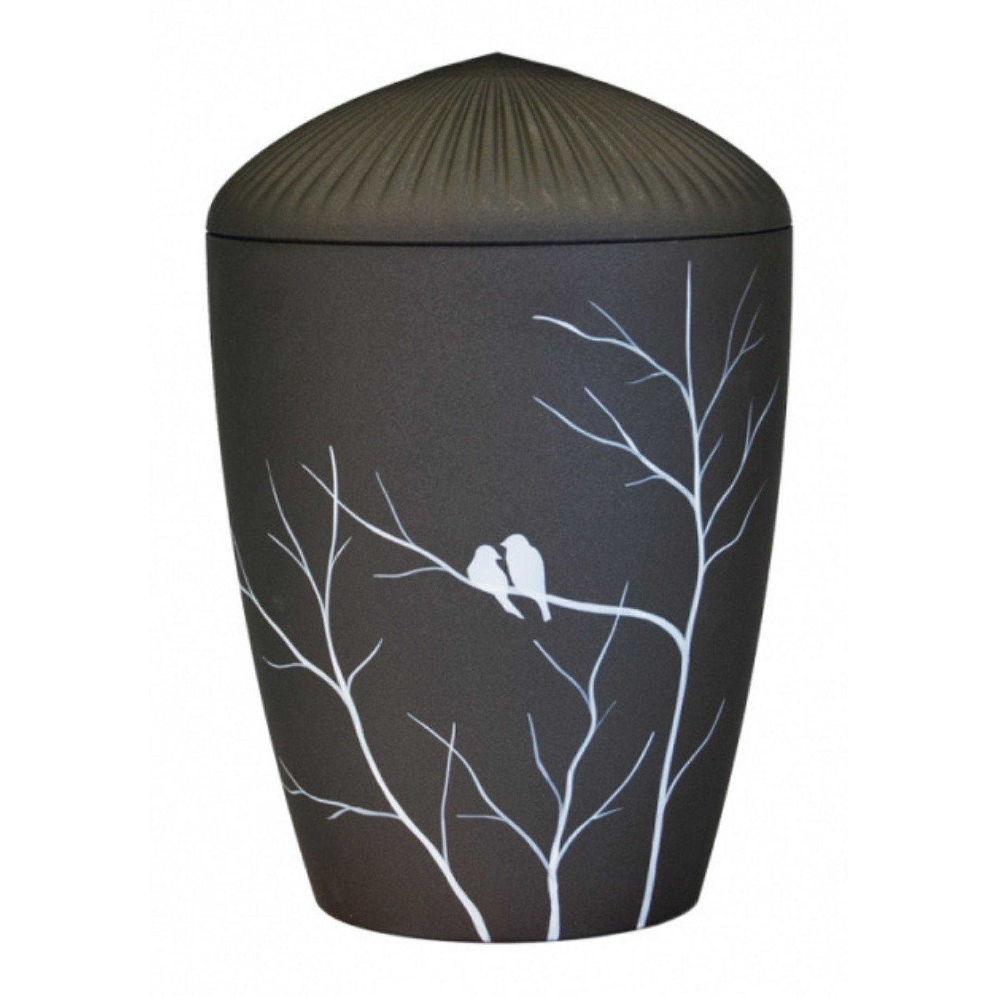 Ferndown Birds in Harmony Bio Cremation Ashes Urn - Urns UK