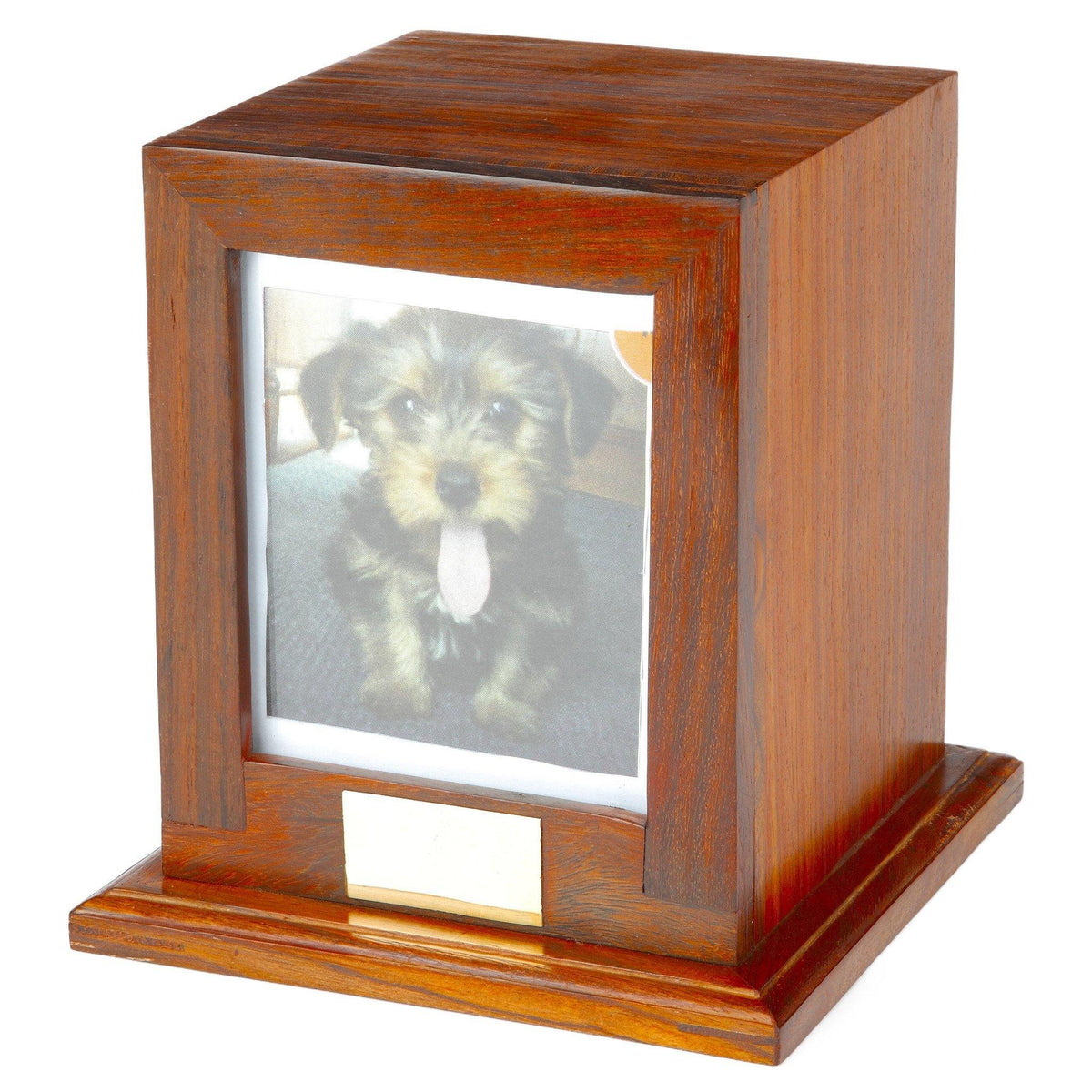 Bootle Wooden Cremation Ashes Pet Urn - Urns UK