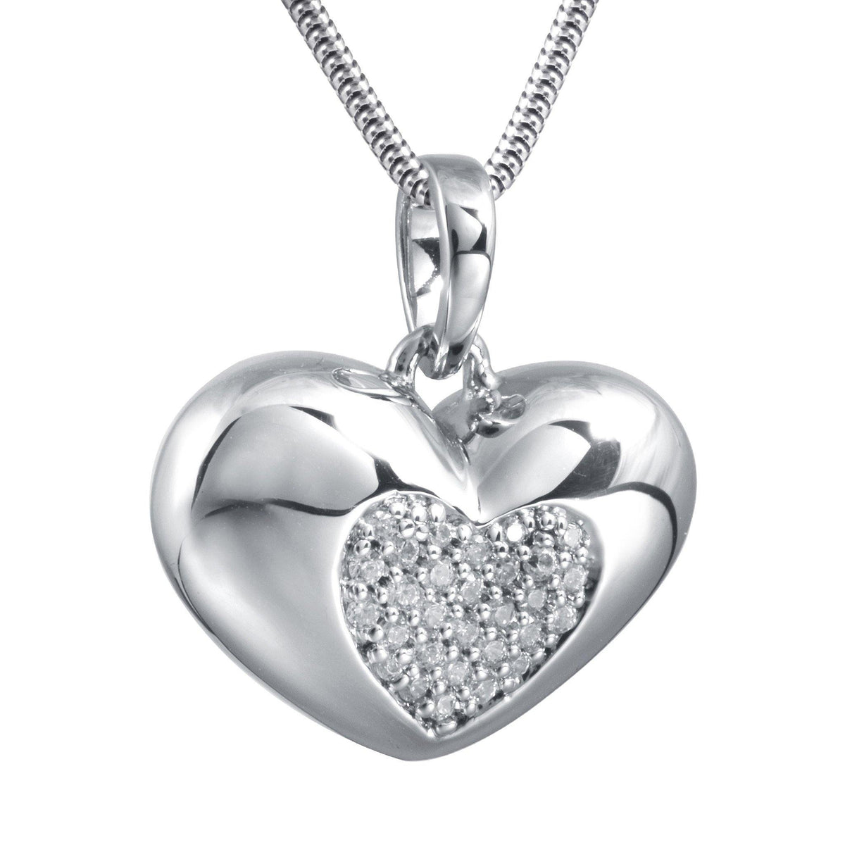 Belgravia Design 3 Cremation Ashes Pendant 925 Silver - Urns UK