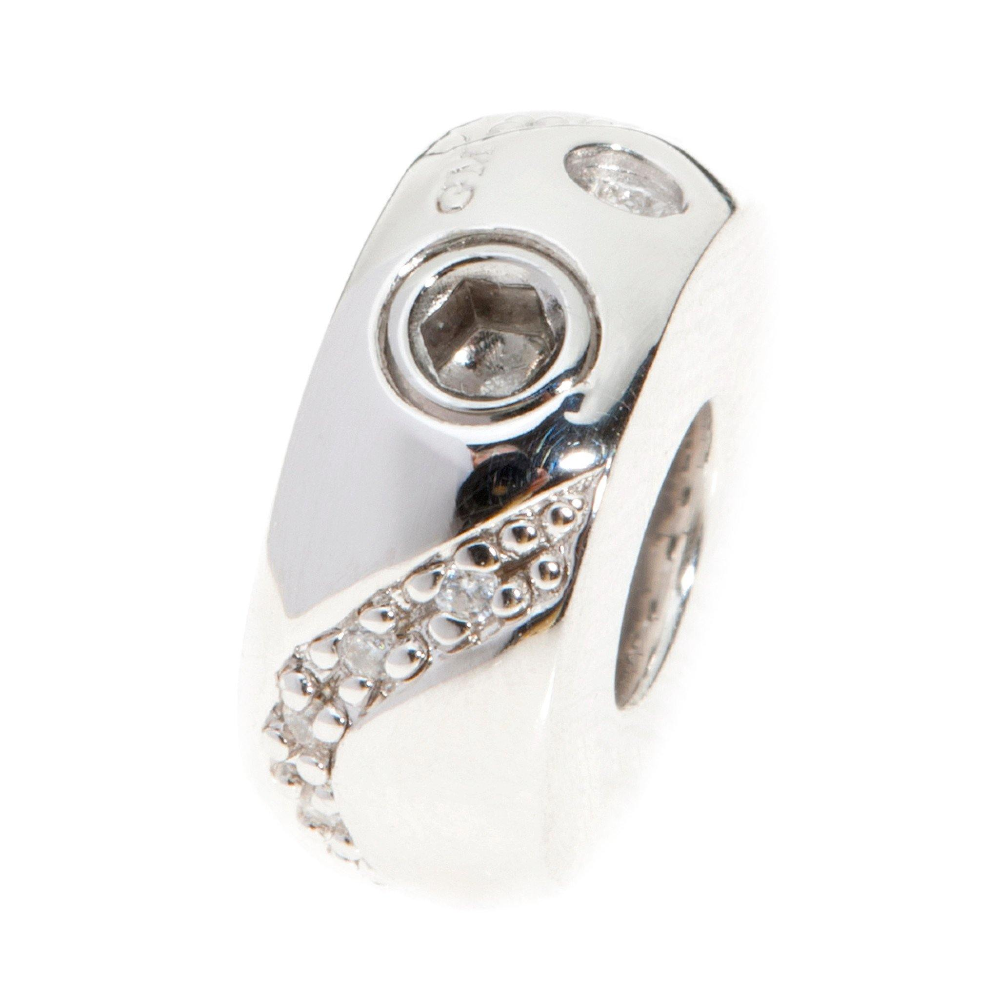 Belgravia Design 27 Cremation Ashes Bead 925 Silver - Urns UK