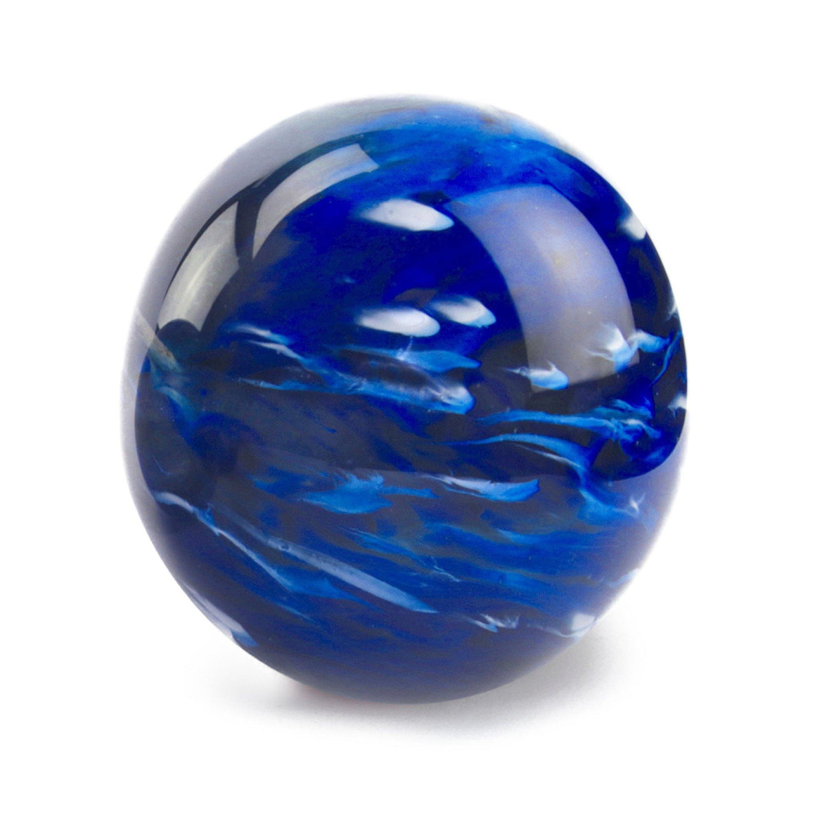 Malton Marble Blue Glass Cremation Ashes Urn - Urns UK