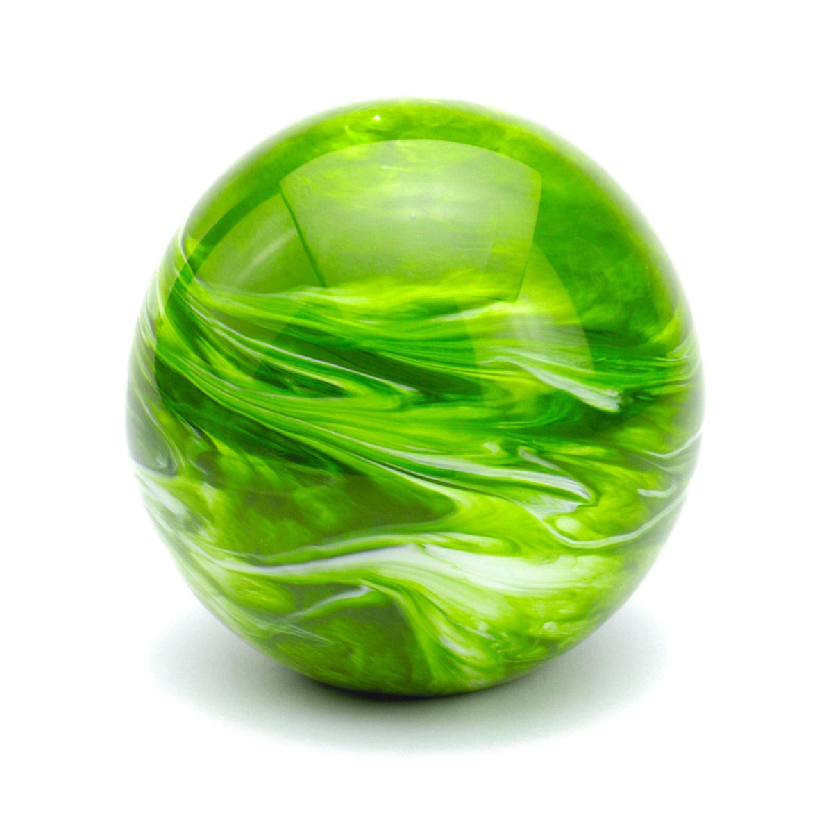 Malton Marble Green Glass Cremation Ashes Urn - Urns UK