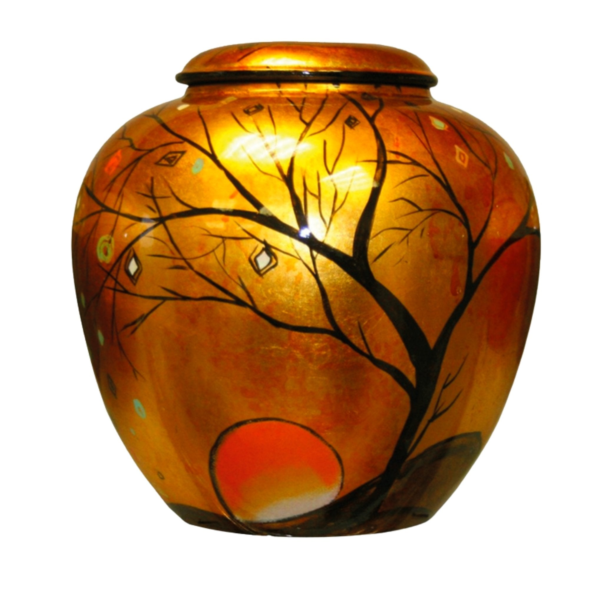 Appleton Adult Cremation Ashes Urn Sunset