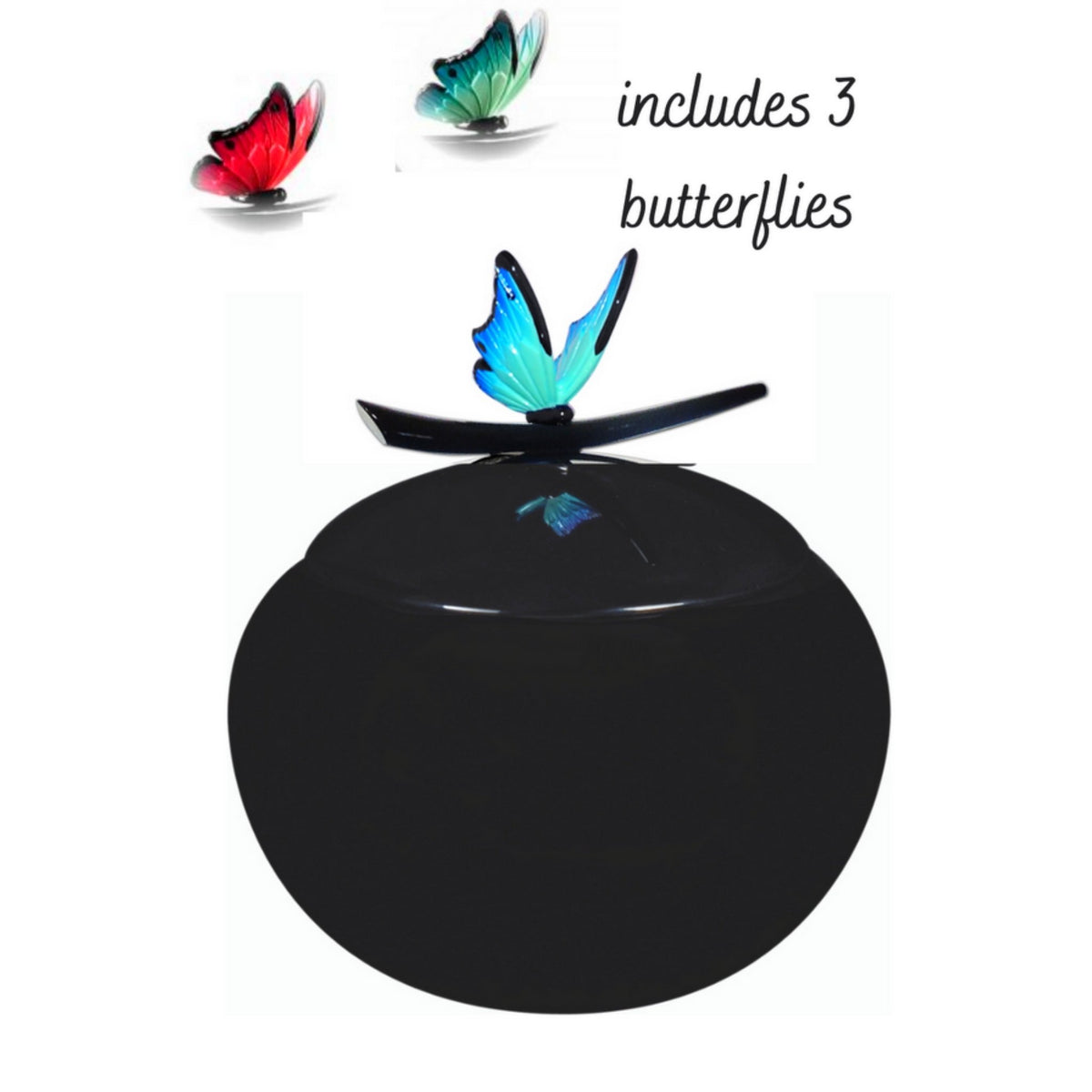 Denholme Butterflies Adult Cremation Ashes Urn