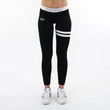 GYMSTYLE - Black Confidence - Gym Leggings - front