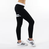 GYMSTYLE - Black Confidence - Gym Leggings - right