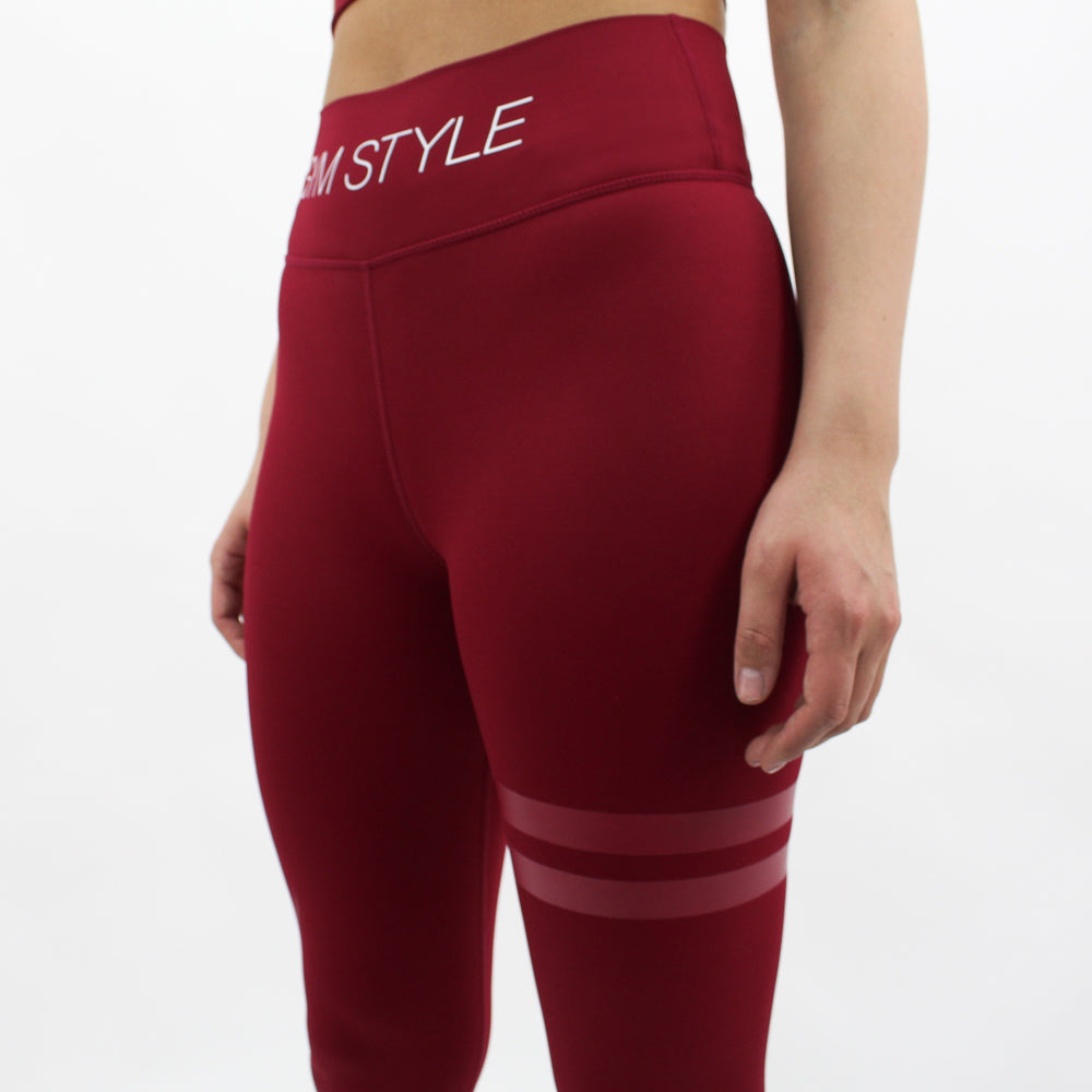 GYMSTYLE-Red_Flame_2.0-Leggings-front