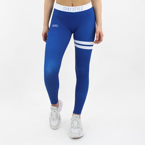GYMSTYLE-Shiny_Blueberry-Leggings-Front