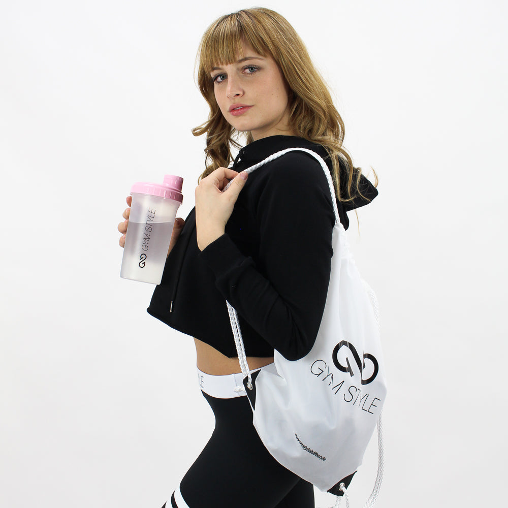 GYMSTYLE - Gymbag - white - pose