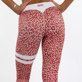 Red Wildcat Leggings