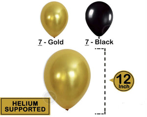 "26pcs 40"" Gold Number Foil  New Years Eve / Graduation Party Balloons"