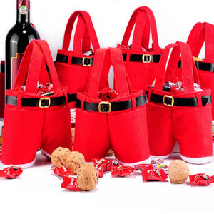 1 Pc Christmas Gift Bags & Holders with Handle