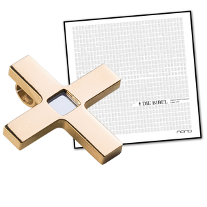 Isosceles Nano Bible, Titan gold plated