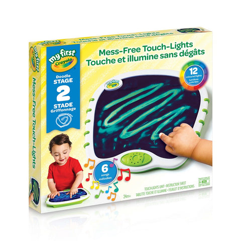 Crayola My First Mess-Free Touch-Lights - Baby Mega Mall