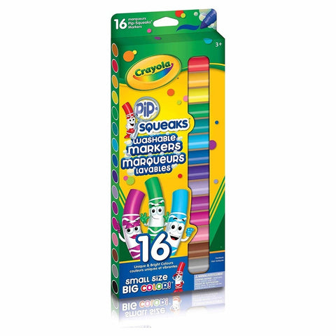 Crayola 16 Pip-Squeaks Broad Line Washable Markers - Baby Mega Mall