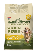 Load image into Gallery viewer, Harringtons Grain Free Dog Food Turkey & Sweet Potato