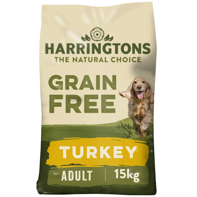 Grain Free Turkey & Sweet Potato Dry Dog Food