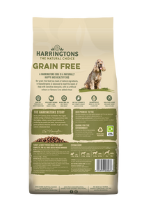 Harringtons Grain Free Turkey & Sweet Potato Dry Dog Food Ingredients