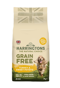 Harringtons Grain Free Turkey & Sweet Potato Dry Dog Food