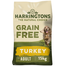 Load image into Gallery viewer, Harringtons Grain Free Dog Food Turkey & Sweet Potato 15kg