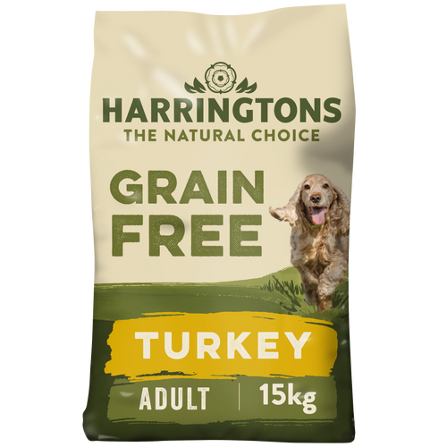 Harringtons Grain Free Dog Food Turkey & Sweet Potato 15kg