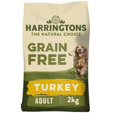 Load image into Gallery viewer, Grain Free Turkey & Sweet Potato Dry Dog Food 2kg