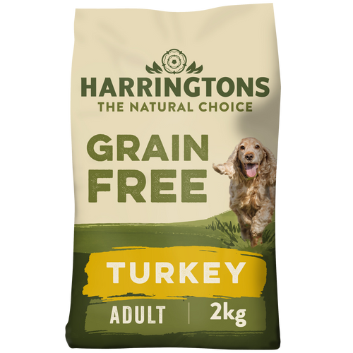 Complete Grain Free Hypoallergenic Turkey & Sweet Potato Dry Dog Food 2kg