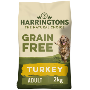 Grain Free Turkey & Sweet Potato Dry Dog Food 2kg