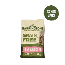 Load image into Gallery viewer, Grain Free Salmon & Sweet Potato Dry Dog Food