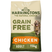 Load image into Gallery viewer, Harringtons Grain Free Chicken & Sweet Potato Dry Dog Food 15kg