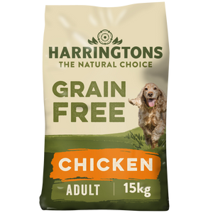 Harringtons Grain Free Chicken & Sweet Potato Dry Dog Food 15kg