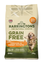 Load image into Gallery viewer, Harringtons Grain Free Chicken & Sweet Potato Dry Dog Food