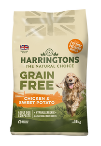 Harringtons Grain Free Chicken & Sweet Potato Dry Dog Food