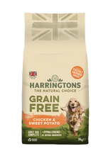Load image into Gallery viewer, Harringtons Grain Free Dog Food Chicken & Sweet Potato