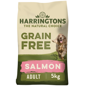 Harringtons Grain Free Dog Food Salmon & Sweet Potato 5kg