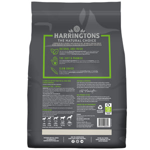 Harringtons Just 6 Lamb & Vegetable Dry Dog Food Ingredients