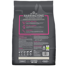 Load image into Gallery viewer, Harringtons Just 6 Salmon & Vegetable Dry Dog Food Ingredients