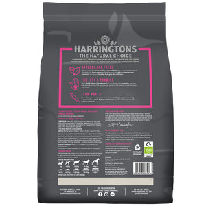 Harringtons Just 6 Salmon & Vegetable Dry Dog Food Ingredients