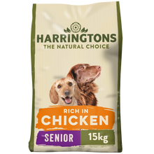 Load image into Gallery viewer, Harringtons Complete Senior Dry Dog Food Chicken & Rice 15kg